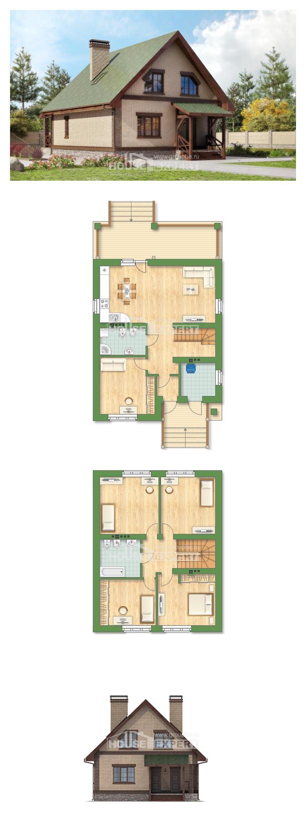 Проект дома 160-011-П | House Expert
